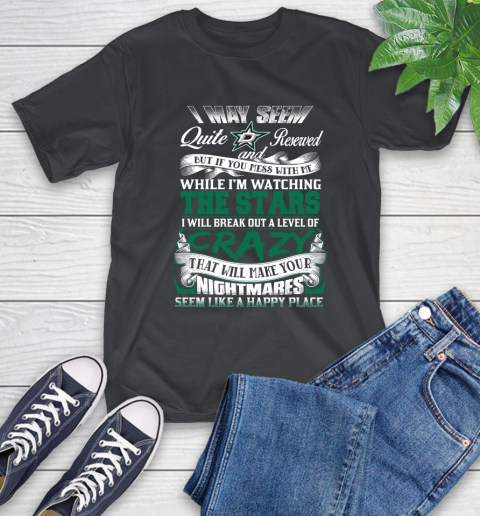 Dallas Stars Nhl Hockey Dont Mess With Me While Im Watching My Team T Shirt