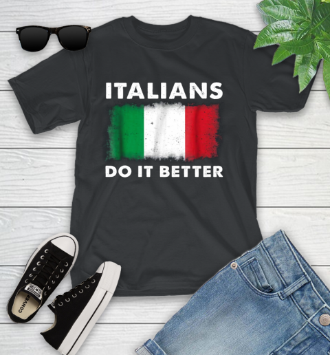 Italians Do It Better Youth T-Shirt