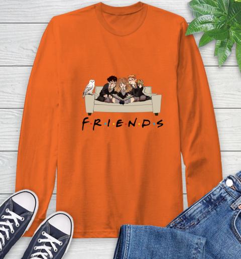 Harry Potter Ron And Hermione Friends Shirt Long Sleeve T-Shirt 3