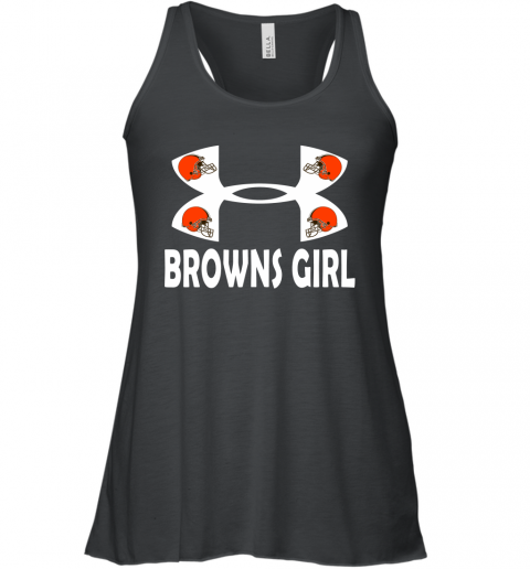 NFL Cleveland Browns Girl Under Armour Football Sports Racerback Tank