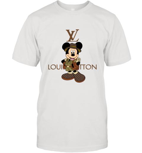 Louis Vuitton Mickey Mouse Safari T-Shirt