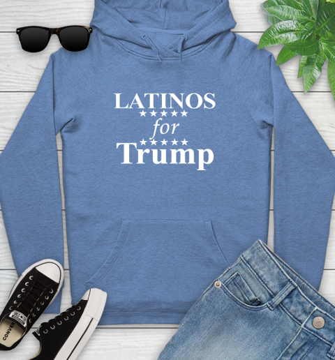 Latinos For Trump Youth Hoodie 13