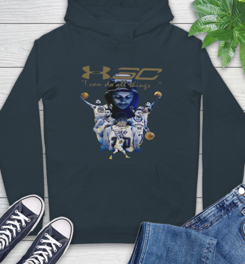 Stephen Curry I Can Do All Things Signature Hoodie 7