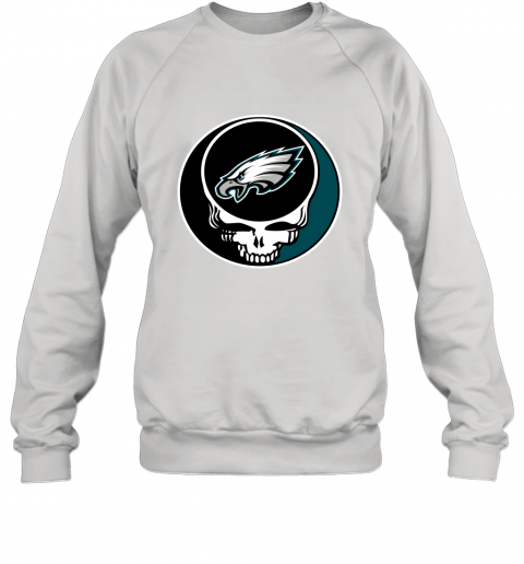 NFL Philadelphia Eagles Grateful Dead Rock Band Football Sports Sweatshirt