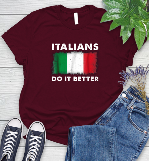 Italians Do It Better Women's T-Shirt 21