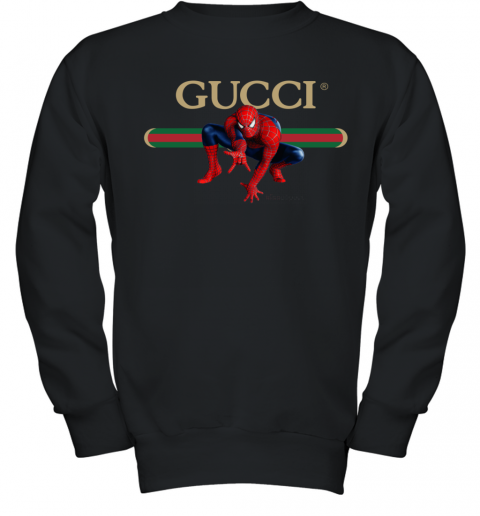 Gucci Logo Spiderman Youth Sweatshirt
