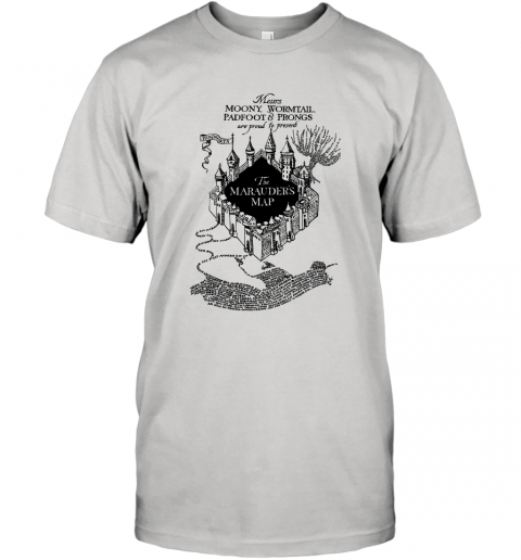 Harry Potter Marauders Map UV T-Shirt
