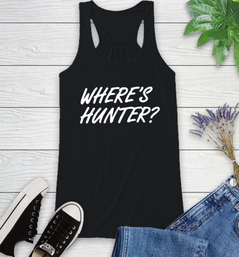 Where Is Hunter Racerback Tank