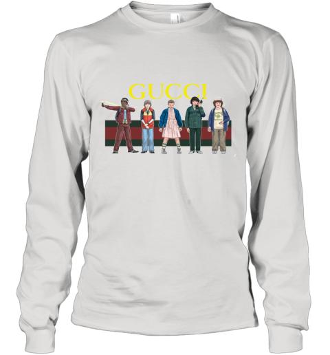 Gucci Stranger Things Long Sleeve T-Shirt
