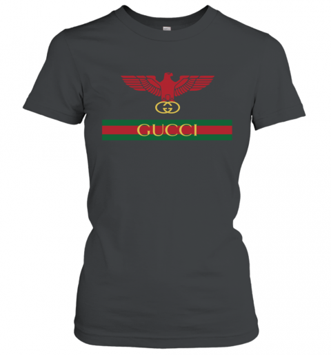 Gucci Menswear Logo Eagle Fire Women's T-Shirt