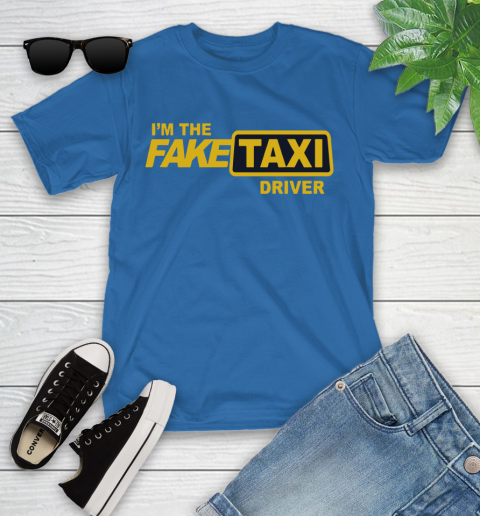 I am the Fake taxi driver Youth T-Shirt 9