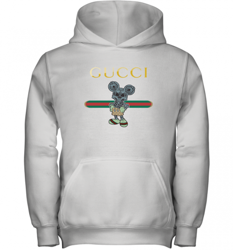 Gucci Skeleton Mickey Mouse Youth Hoodie