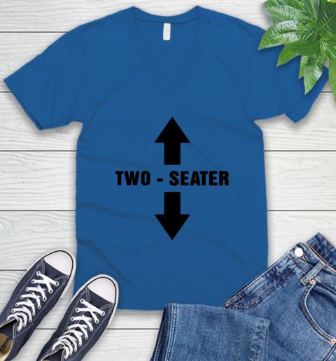 Two Seater V-Neck T-Shirt 3