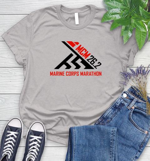 2018 Marine Corps Marathon Women's T-Shirt 10