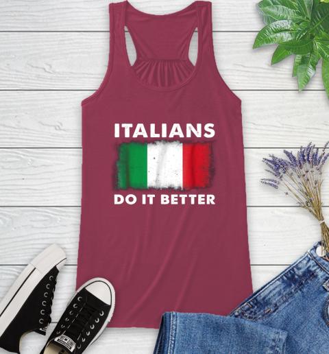 Italians Do It Better Racerback Tank 7