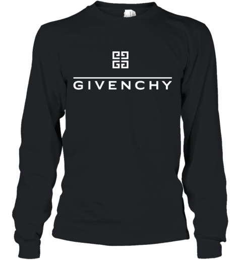 Givenchy Wolf Long Sleeve T-Shirt