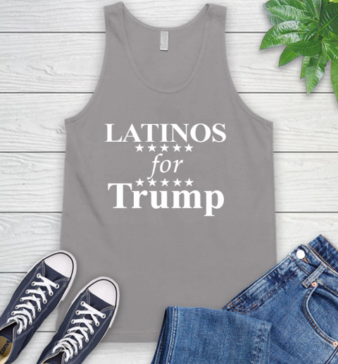 Latinos For Trump Tank Top 3