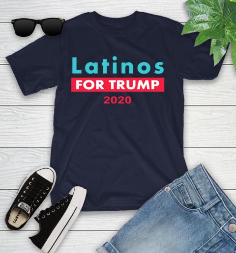 Latinos Trump 2020 Youth T-Shirt 3