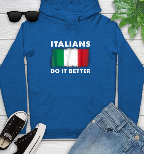Italians Do It Better Youth Hoodie 11