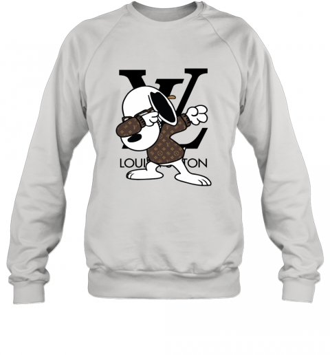 SNOOPY GUCCI x LOUIS VUITTON LOGO Sweatshirt