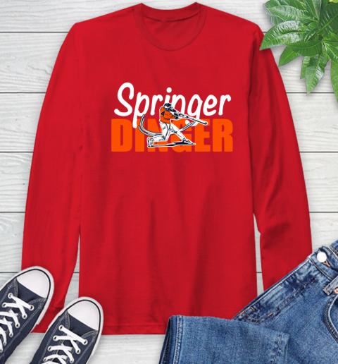 Houston Springer Dinger Fan Shirt Long Sleeve T-Shirt 11