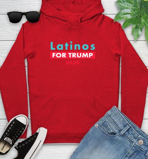 Latinos Trump 2020 Youth Hoodie 11