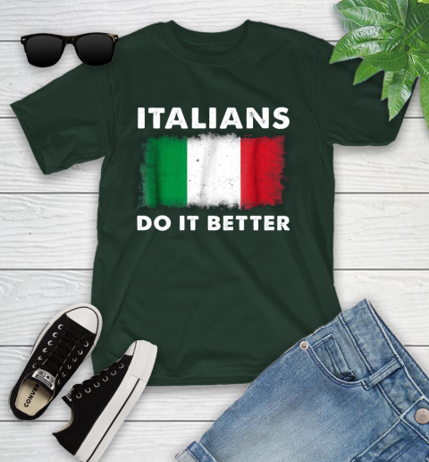 Italians Do It Better Youth T-Shirt 5