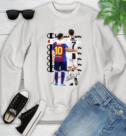 Champion Ronaldo and Messi Signatures Youth Sweatshirt
