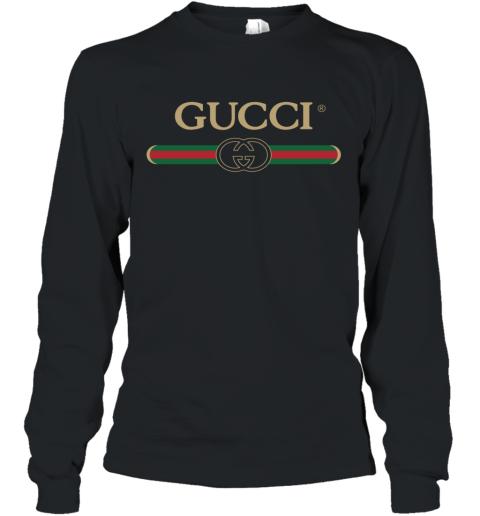Gucci Shirt Logo Long Sleeve T-Shirt