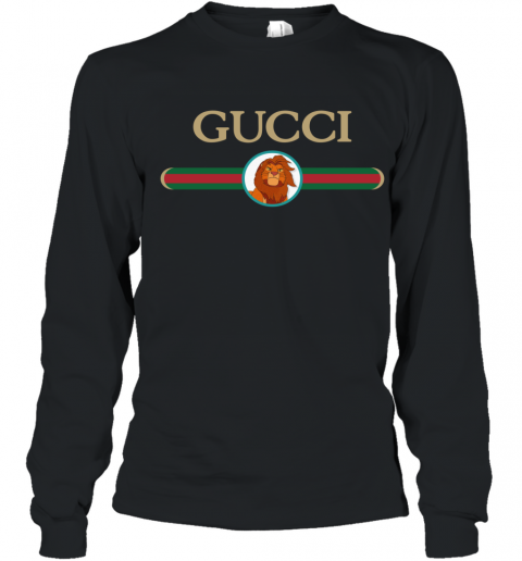 Lion King Simba Gucci Youth Long Sleeve T-Shirt