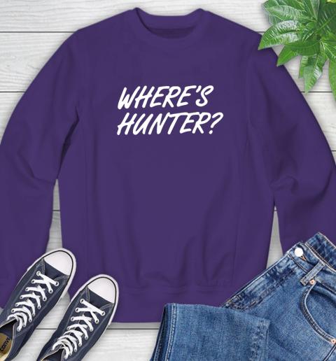 Where Is Hunter Sweatshirt 4