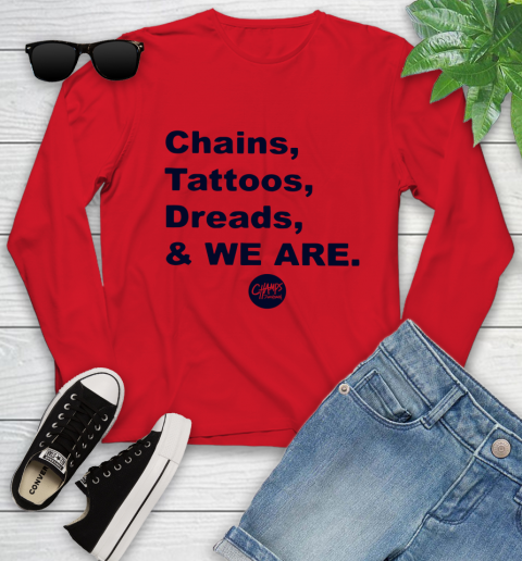 Penn State Chains Tattoos Dreads And We Are Youth Long Sleeve 8