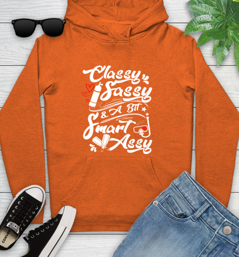 Scuba Diving Classy Sassy Youth Hoodie 4