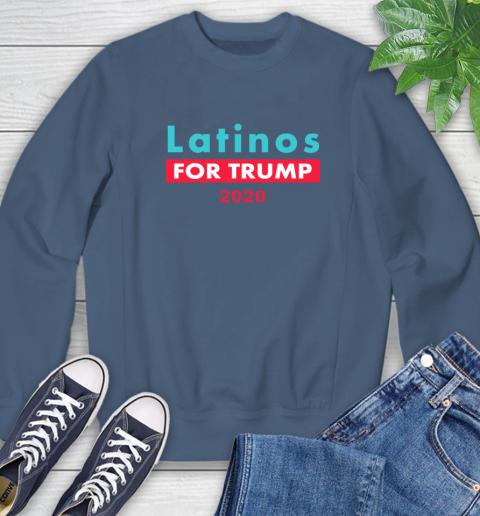 Latinos Trump 2020 Sweatshirt 7