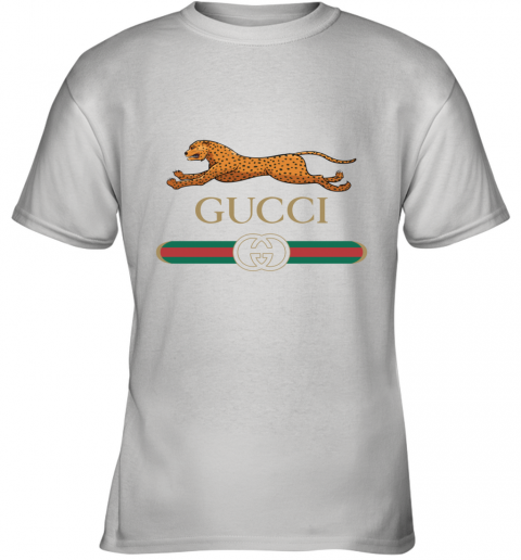 GUCCI Sequin Logo Oversized Youth T-Shirt