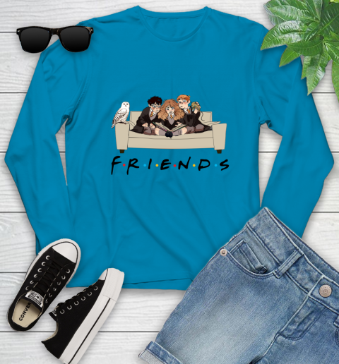 Harry Potter Ron And Hermione Friends Shirt Youth Long Sleeve 5