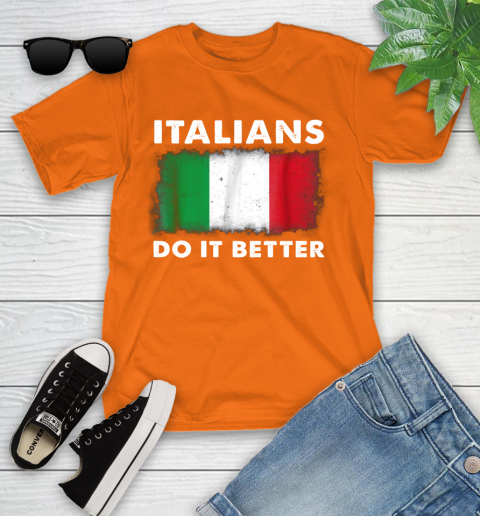 Italians Do It Better Youth T-Shirt 9