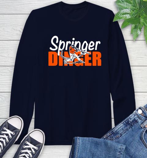 Houston Springer Dinger Fan Shirt Long Sleeve T-Shirt 3