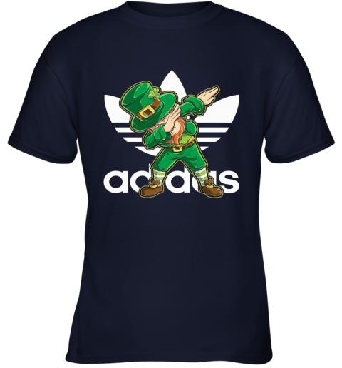 Adidas Leprechaun Dabbing Men Youth T-Shirt