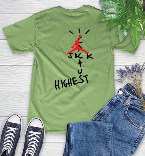 Travis Scott Cactus Jack Jordan Highest Women's T-Shirt 18