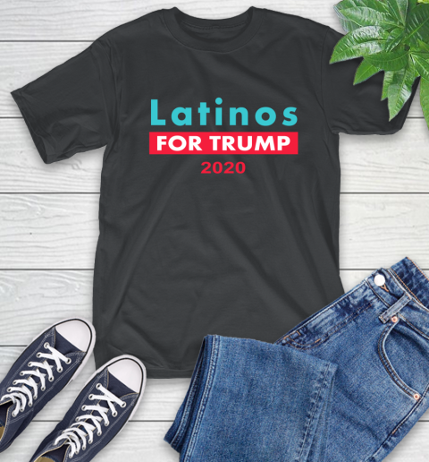 Latinos Trump 2020 T-Shirt 2