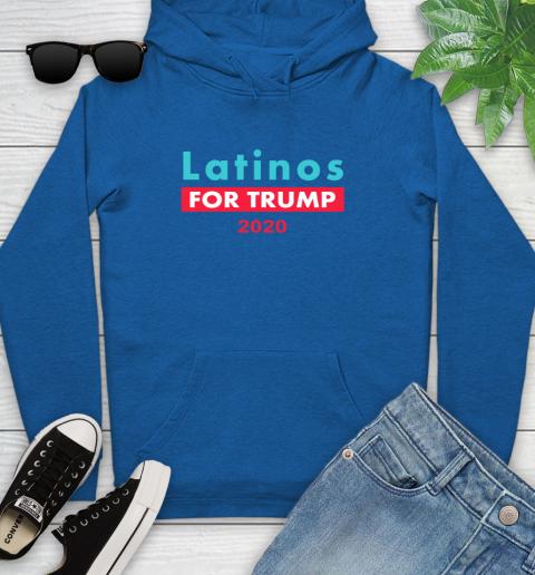 Latinos Trump 2020 Youth Hoodie 9