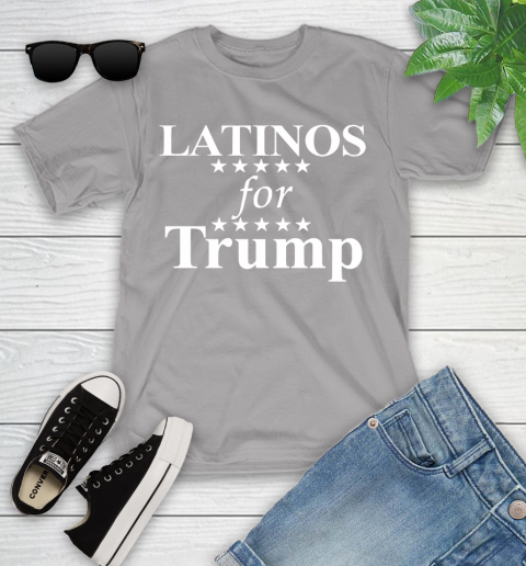 Latinos For Trump Youth T-Shirt 4