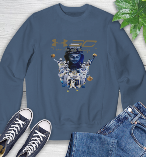 Stephen Curry I Can Do All Things Signature Sweatshirt 8
