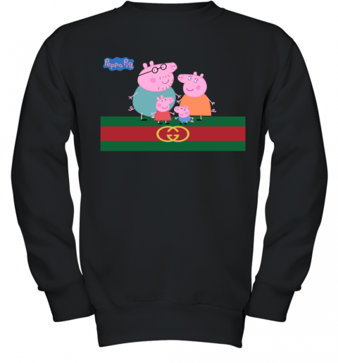 Peppa Pig Gucci Family Limited Youth Sweatshirt