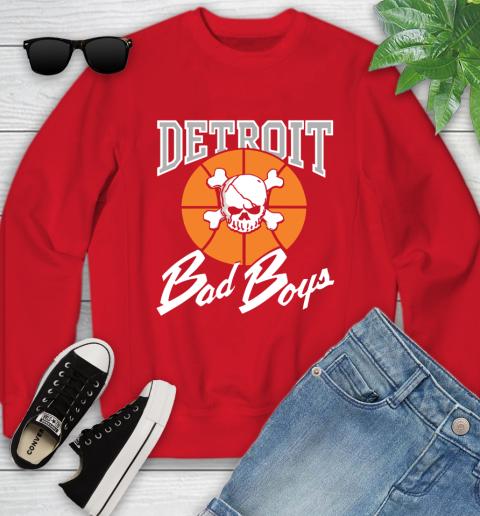 Detroit Bad Boys Youth Sweatshirt 8