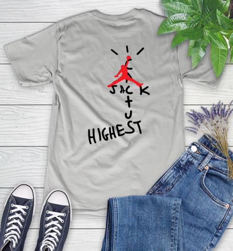 Travis Scott Cactus Jack Jordan Highest Women's T-Shirt 12