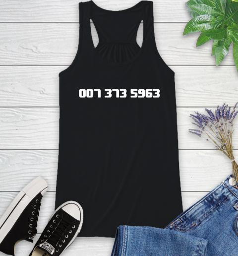 007 373 shirt Racerback Tank