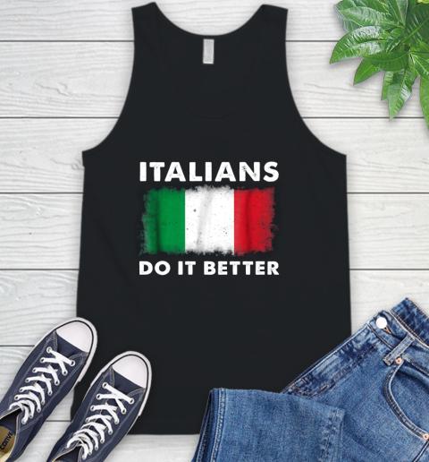 Italians Do It Better Tank Top 1