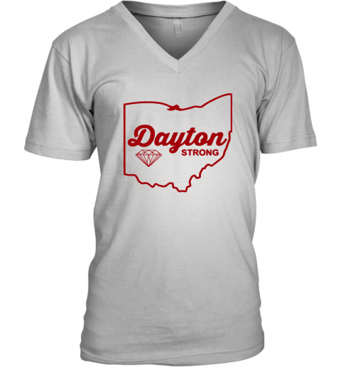 Dayton strong V-Neck T-Shirt